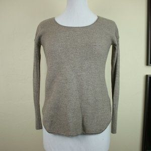 Cynthia Rowley 100% Extrafine Merino Wool Long Sle